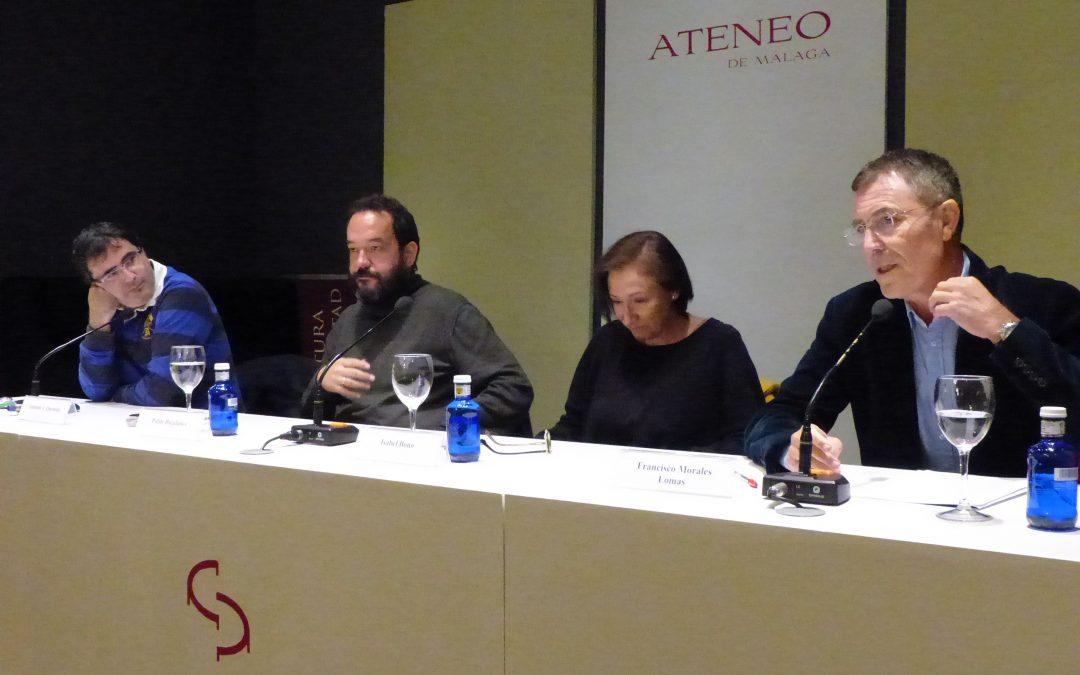 con Antonio J. Quesada, Pablo Bujalance e Isabel Bono