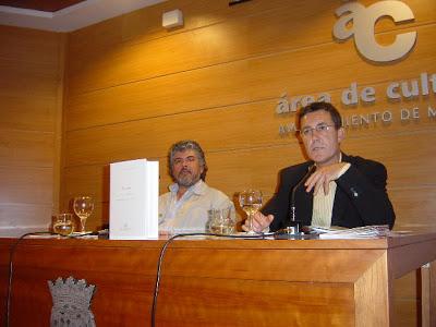 Con Alberto Torés presentación Tránsito