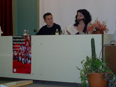 Con Aurora Luque 2006
