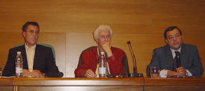 Con Felix Grande y García Velasco