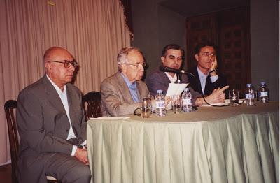 Con Francisco Peralto, P. García Baena y J. Sarria
