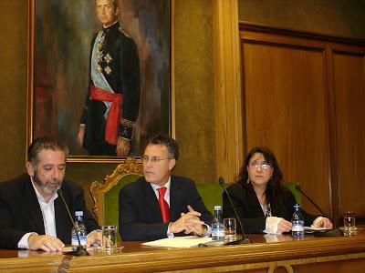 Con Pilar Quirosa (Almería, 2007).