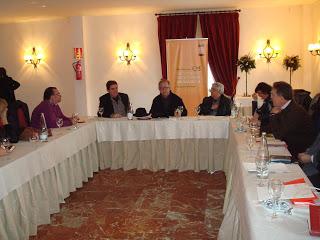 Encuentro de escritores en Antquera (enero 2012)