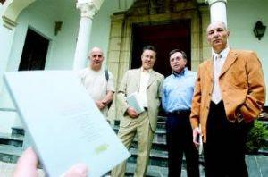 En Diario Córdoba con Gahete, Rodríguez Jiménez y Membrive