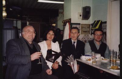 Con Enrique Morón, Pilar Pérez y José María Pérez Zúñiga
