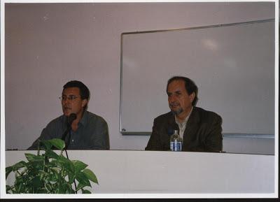 Fotos con escritores Vaz de Soto