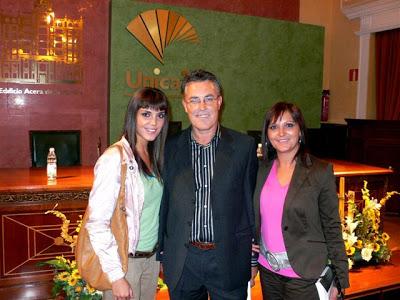 Con Lorena Morales y Pilar Pérez