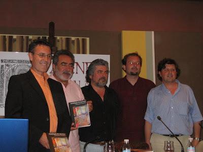 Homenaje a la República, con Alberto Torés, Félix Martín, Rafael Ávila y Eduardo Vila
