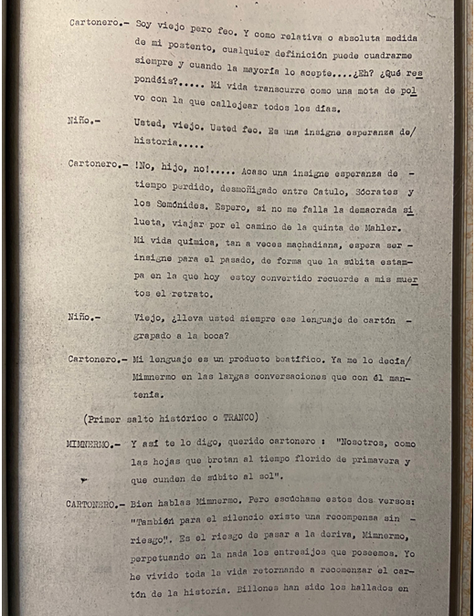 ACTO ÚNICO. DIÁLOGOS DE LA NEGRITUD HISTÓRICA