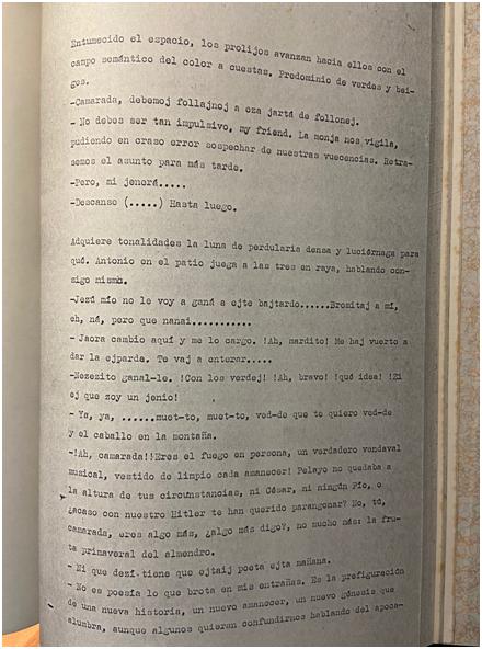 PARODIA A UN SOLO ESPACIO CON TOQUE DE TROMBÓN (1981) (INÉDITA)