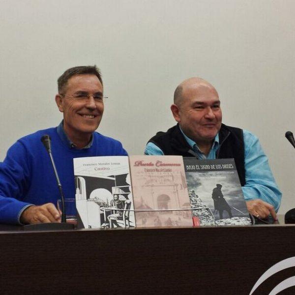 Con Garrido Moraga en la presentación de Puerta Carmona